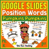 Google Slides™ Position Word Activities Rhyming Activities