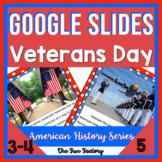 Digital Veterans Day Literacy Activities for Google Slides