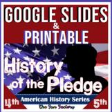 Pledge of Allegiance Activities | Worksheets | Digital AND