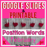 Positional Words Activities | Position Words Worksheets DI