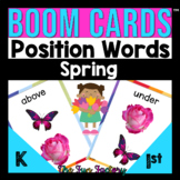 Positional Words Activities for Digital BOOM CARDS™ | Spri