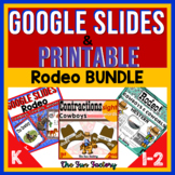 Rodeo Activities Cowboy Cowgirl | Digital AND Printable |