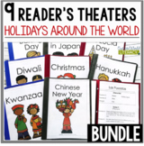 Holidays Around the World Reader's Theater Bundle