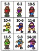 Football Math Centers {6 Centers} Color and Printer Friendly