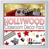Editable Hollywood Oscars Classroom Decor Bundle