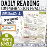 HALF OFF first 48 hours! Daily Reading Morning Work: Grade 1 GROWING Bundle