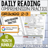 Daily Reading Morning Work: Grades 2-3 GROWING Bundle