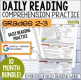 Daily Reading Morning Work: Grades 2-3 GROWING Bundle