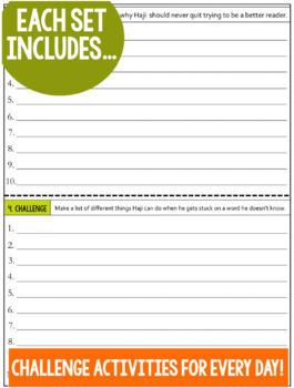 Daily Reading Morning Work: Grades 2-3 Bundle