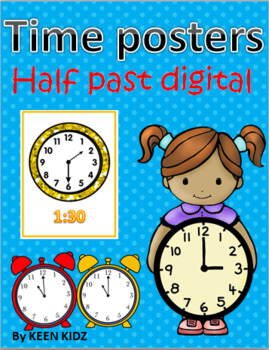 HALF PAST DIGITAL POSTERS