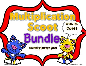 Multiplication Scoots with QR Codes {5 Games}