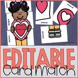 Valentine Prefixes Word Game
