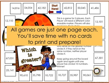 Fourth Grade Place Value Games for Every Season