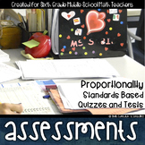 Proportionality Math Review Standards Based Assessments &