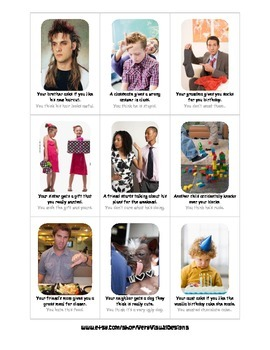 HALF TRUTHS SOCIAL SKILLS CONVERSATION STARTERS autism speech therapy aba pdf