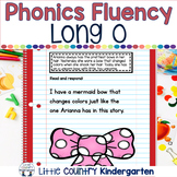 Reading Fluency Passages: Phonics Month of Long Vowel O:O_E, OA, OW