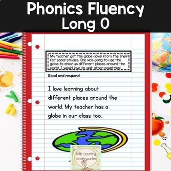 Reading Fluency Passages Phonics Month Of Long Vowel O O E OA OW