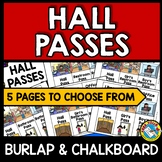 HALL PASSES FOR LANYARDS AND FREE HEADER LABEL (POLKA DOTS