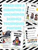 HALL STAR and TRACKING Posters from Teach Like A Champion and Uncommon Schools