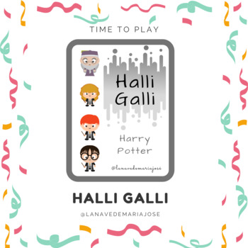 HALLI GALLI- HARRY POTTER