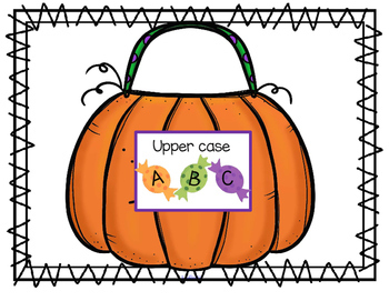 HALLOWEEN Theme Math and Literacy Centers and Activities Preschool