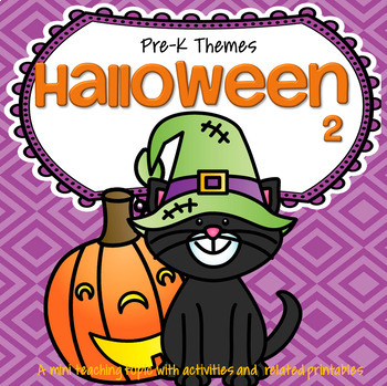 HALLOWEEN 2 Preschool Activities