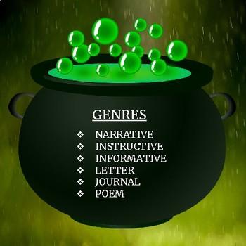 HALLOWEEN 30 WRITING PROMPTS - 6 GENRES
