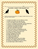 HALLOWEEN: A SUBJECT/ VERB AGREEMENT QUIZ