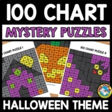 HALLOWEEN ACTIVITY 1ST GRADE, KINDERGARTEN (100 CHART MYST