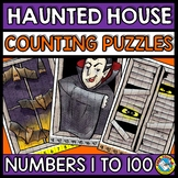 HALLOWEEN ACTIVITY KINDERGARTEN (COUNTING TO 100 PUZZLES O