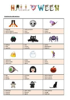 HALLOWEEN - ACTIVITY - MULTIPLE CHOICES - 2