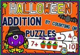 ADDITION UP TO 20 HALLOWEEN ACTIVITY KINDERGARTEN (ADDITIO