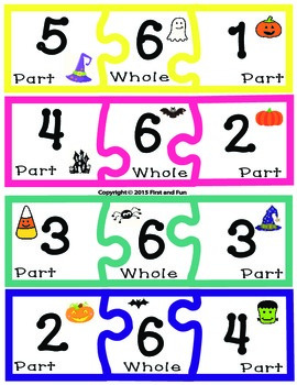 HALLOWEEN ADDITION PUZZLE FREEBIE GAME
