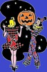 HALLOWEEN AND GOTHIC CLIP ART PART 2 (90 PUBLIC DOMAIN IMAGES)