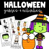 HALLOWEEN Activities Math Clip Cards and Language Arts Hal