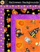 HALLOWEEN BACKGROUNDS [Marie Cole Clipart]