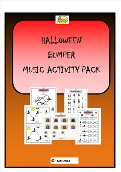 HALLOWEEN BUMPER MUSIC ACTIVITY PACK
