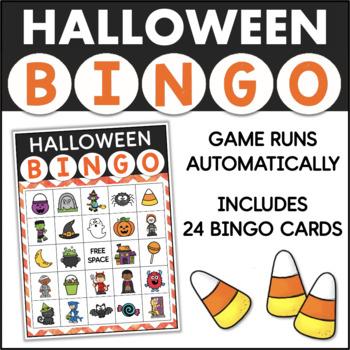 HALLOWEEN Bingo Game for Powerpoint