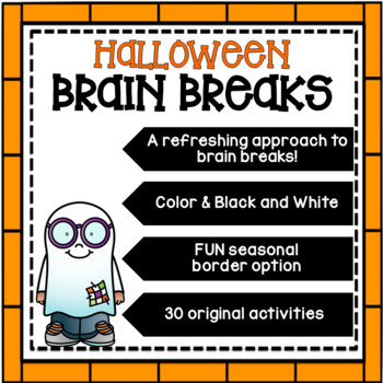 HALLOWEEN Brain Breaks [Brain Gym]