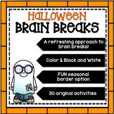 HALLOWEEN Brain Breaks [Brain Gym]