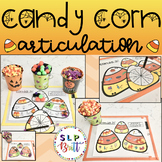 HALLOWEEN CANDY CORN -  ARTICULATION (SPEECH & LANGUAGE THERAPY)