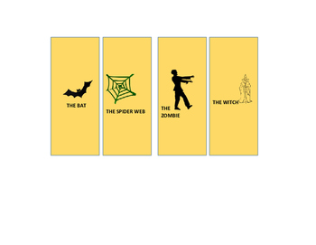HALLOWEEN CARD GAME: ESL VOCABULARY REINFORCEMENT