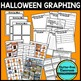 HALLOWEEN GRAPHING bar graphs & picture graphs MATH CENTER ACTIVITY