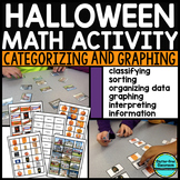 HALLOWEEN GRAPHING bar graphs & picture graphs MATH CENTER