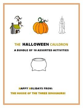 HALLOWEEN CAULDRON: A BUNDLE OF HOLIDAY ACTIVITIES