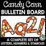 HALLOWEEN CLASSROOM DECOR CANDY CORN BULLETIN BOARD LETTER