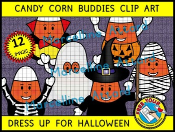 HALLOWEEN CLIPART: CANDY CORN CLIPART: CANDYCORN HALLOWEEN COSTUMES CLIPART