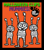 MUMMY CLIP ART FREEBIE black and white images DESIGNED for