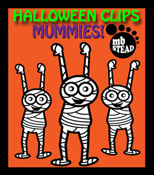 HALLOWEEN CLIP ART FREEBIE black and white images DESIGNED