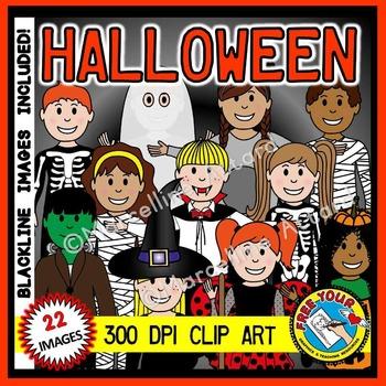 HALLOWEEN CLIPART KIDS: HALLOWEEN KIDS CLIPART: HALLOWEEN COSTUME KIDS CLIPART